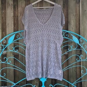 Anthropologie 🆕 Knit Hooded Sleeveless Tunic